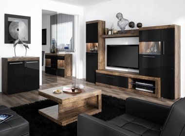 The furniture to the living room – vintage or modern?