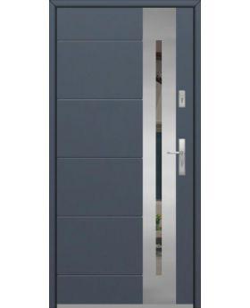 Fargo 26 - stainless steel front door