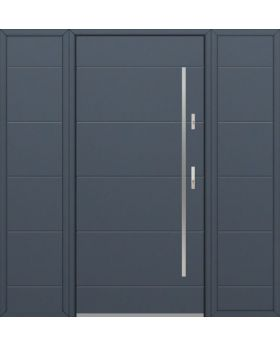 Fargo 26C T - front door with two side panels