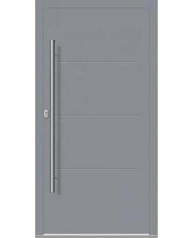 LIM W312 - modern aluminum front door