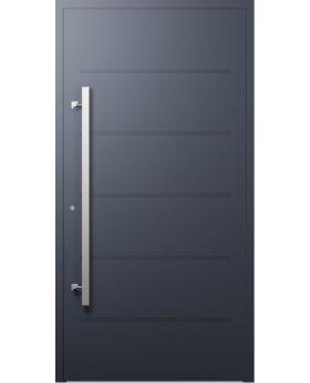 LIM W313 - modern aluminum front door