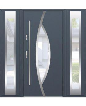 Fargo 31 T - entrance door with side panels