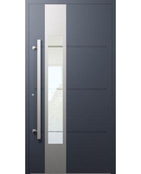 LIM W321- modern aluminum front door