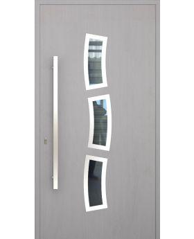 LIM W334 - modern aluminum front door