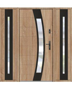 Fargo 38 T - front door with two side panels