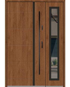 Fargo 41 DB - front door with side panel