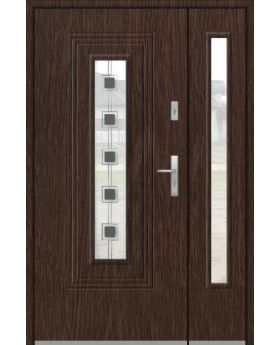 Fargo 6 DB - modern front doors with side panel