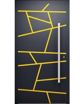 LIM W360 - modern aluminum front door