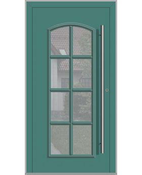 LIM RAPSODIA-T - classic aluminum front door with glass