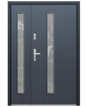 Fargo 42 DB - front door with one side panel