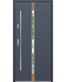 Fargo Fi04A - future inox - silver front door