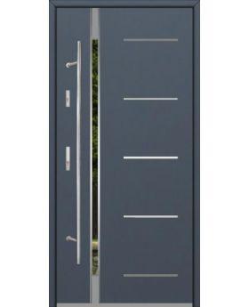 Fargo Fi04E - future inox - silver front door
