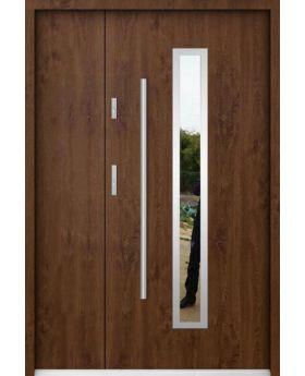 Sta Magellan Uno - metal entry door with side panel