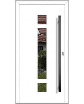 LIM HEY I - modern aluminum front door for homes