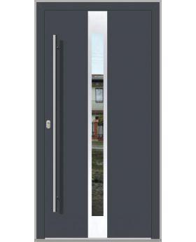 LIM C1- modern aluminum front door for home