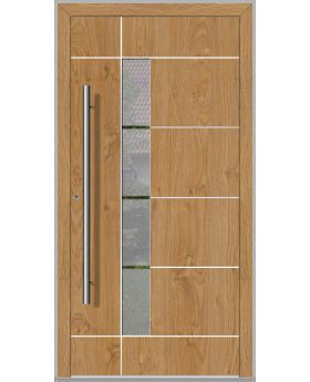LIM Bandera - contemporary aluminum front door