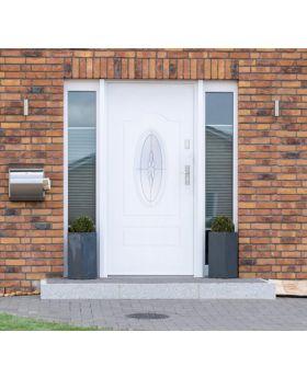 Fargo 8 - front door for sale Colour: white; Glass type: diamond