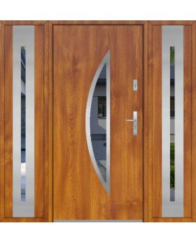 Fargo 22 T - contemporary front door with two side panels
