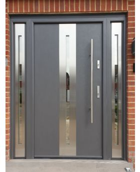 Fargo 26A T - front door with one side panel