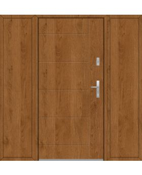 Fargo 26D T - front door with two side panels