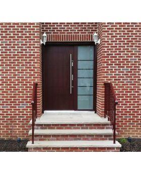 Fargo 26G - exterior door for sale Colour: mahogany