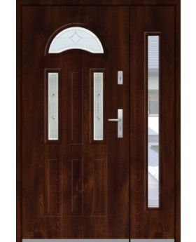 Fargo 34A DB - front door with side panel