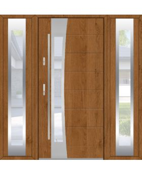 Fargo 37 T - stainless steel front door with two side panels