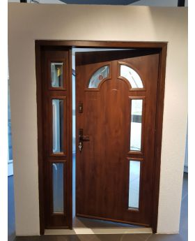 Fargo 9DB - contemporary front door with side panel