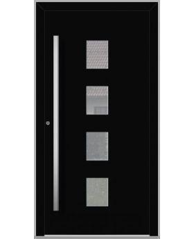 LIM Quatro - aluminum front doors for homes