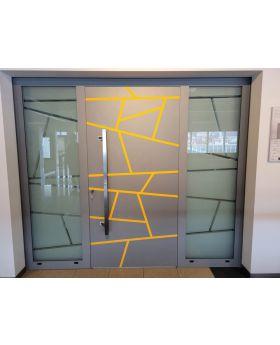 LIM W360 - aluminum entry door