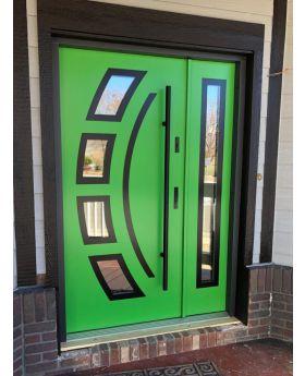 Fargo 21 DB - entrance door with side panel