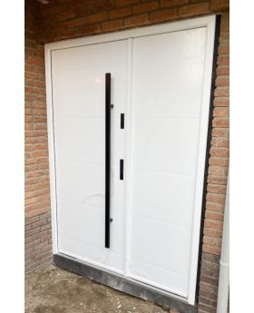 Fargo 26C DB - contemporary front door with side panel