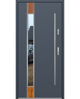 Fargo Fi06C - future inox - silver front door