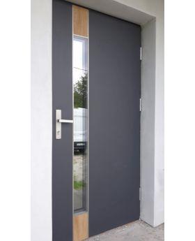 Fargo Fi06B - glass front door