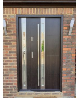 Sta Galileo Duo - front house door with side panel