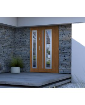 Sta Hevelius Duo - external back door with side panel Colour: winchester