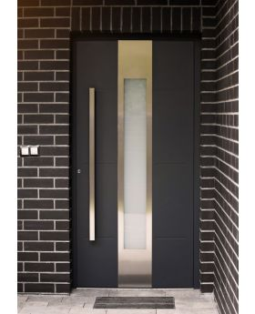 LIM W322 - aluminum entrance door