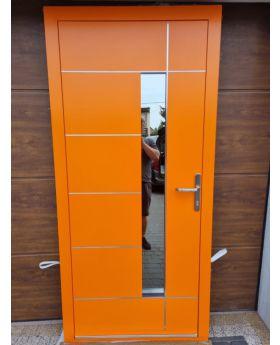 LIM Bandera - aluminum entrance door