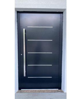 LIM Integra-inox -  aluminum entry door