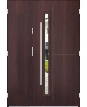 Sta Arago Uno - entry door with sidelights