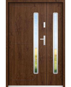 Sta Hadar Duo - modern door with side panel