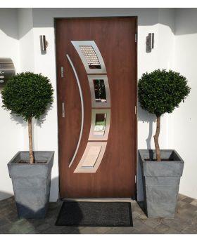 Sta Taurus - new front door Color: golden oak