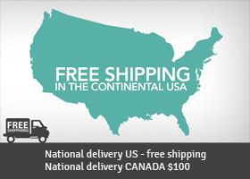 Free delivery to US